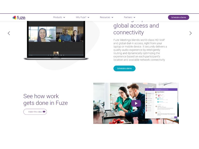 Fuze Video Conferencing