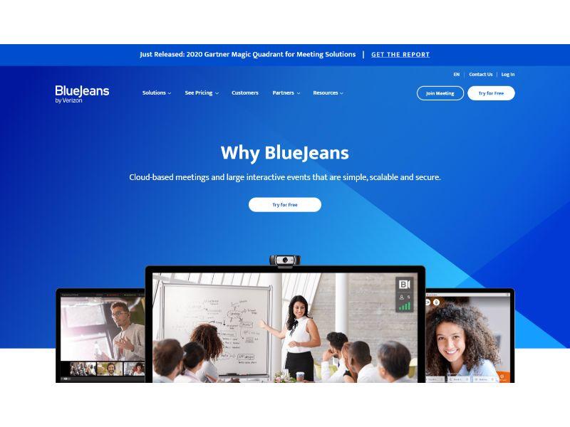 Verizon BlueJeans Video Conferencing