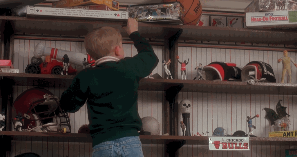 Wilson Product Placement Home Alone