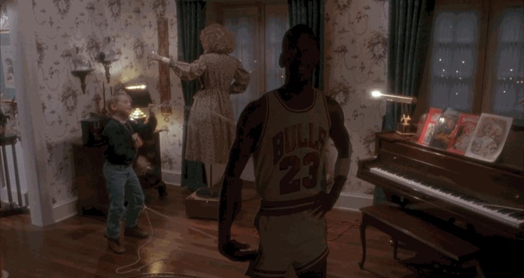 Michael Jordan Home Alone