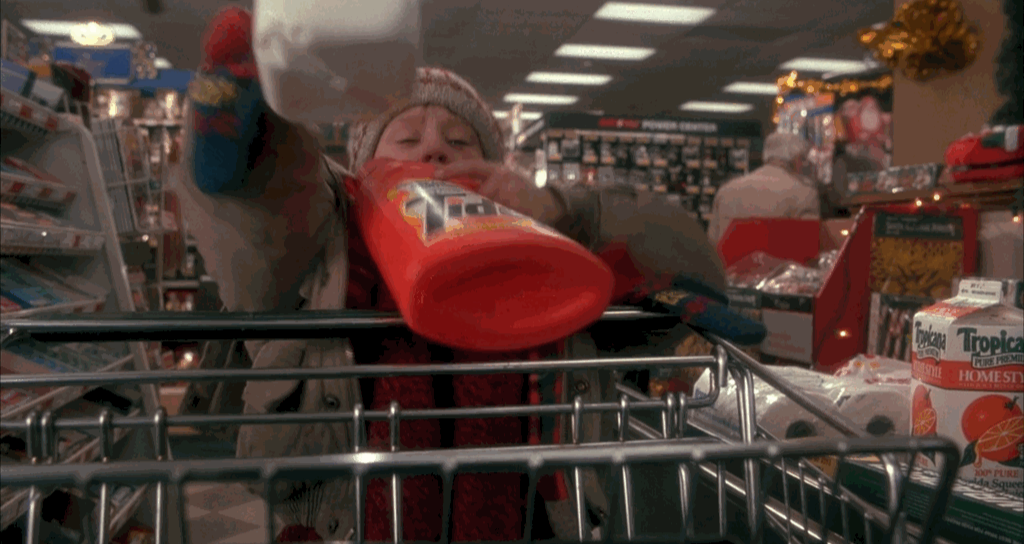 Tide Product Placement Home Alone