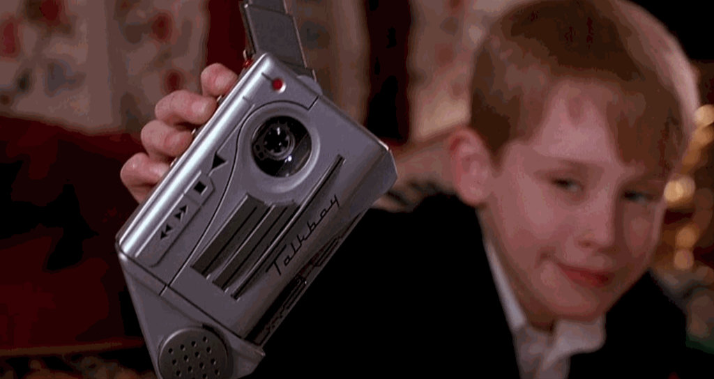 Talkboy Home Alone 2 Product Placement