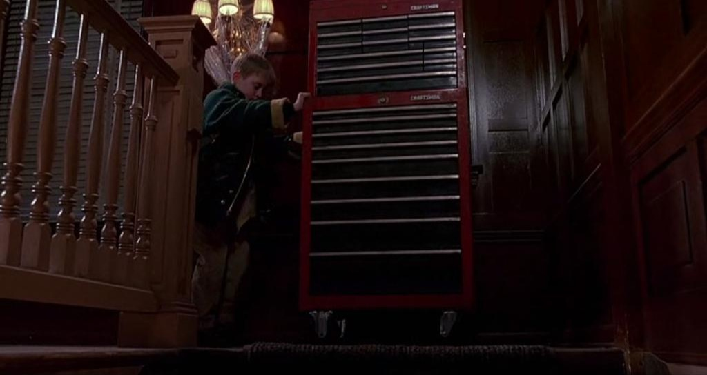 Craftsman Home Alone 2 Product Placement