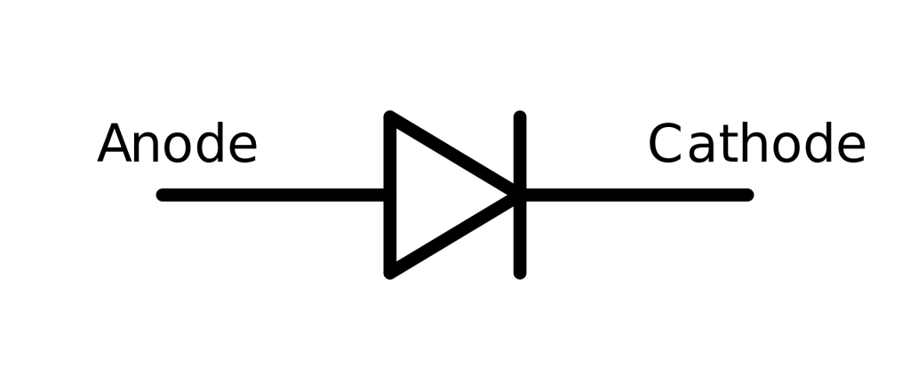 power semiconductor diode symbol