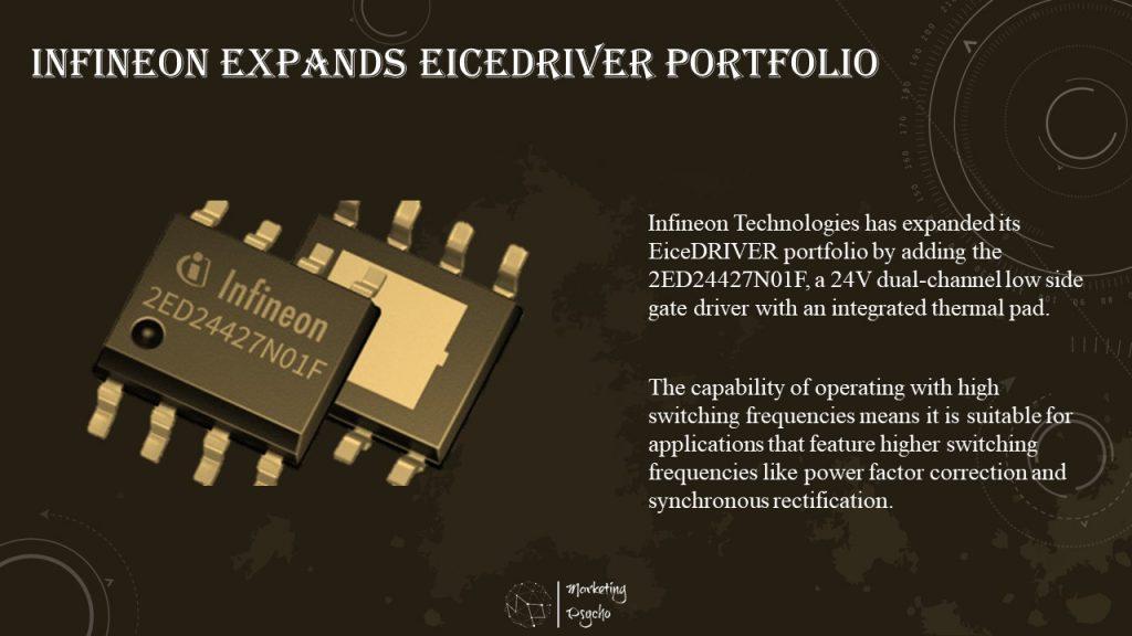 Infineon Technologies has expanded its EiceDRIVER portfolio
