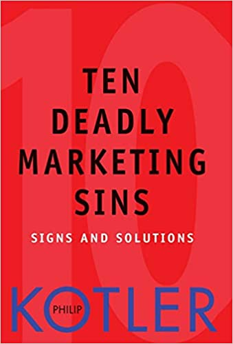 Ten Deadly Marketing Sins Book Cover