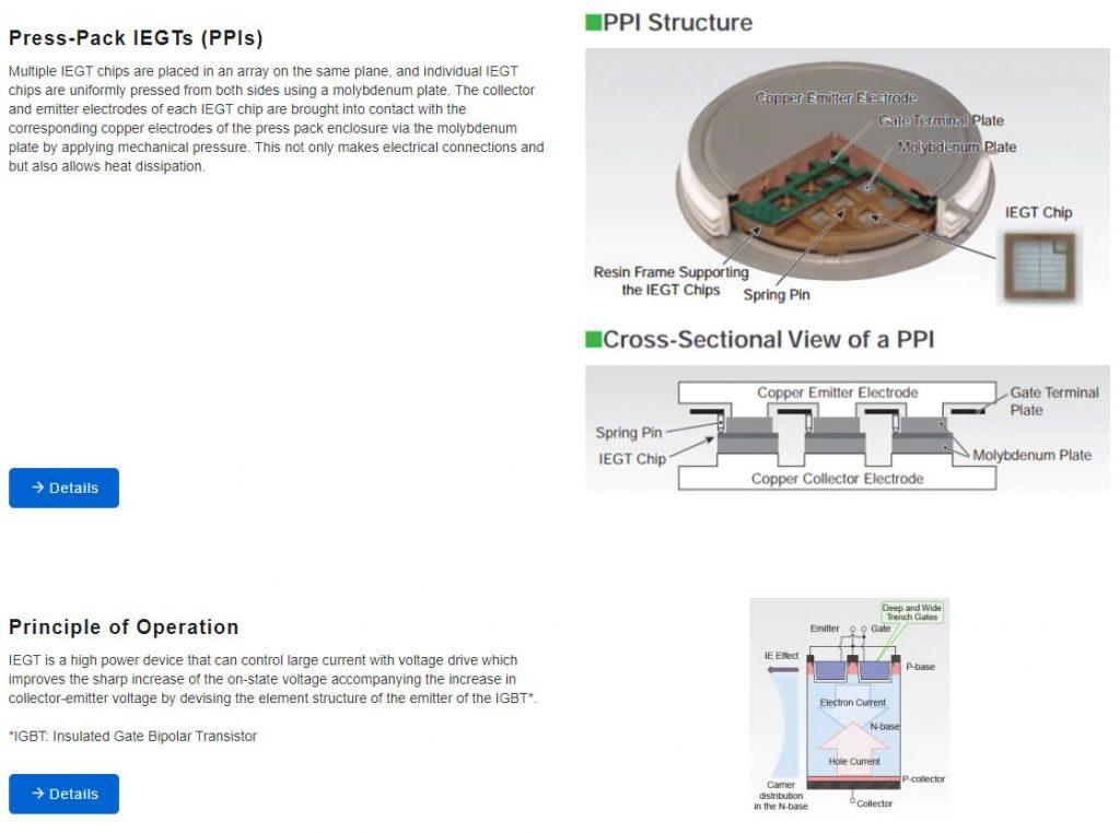 Toshiba IEGT Power Semiconductor