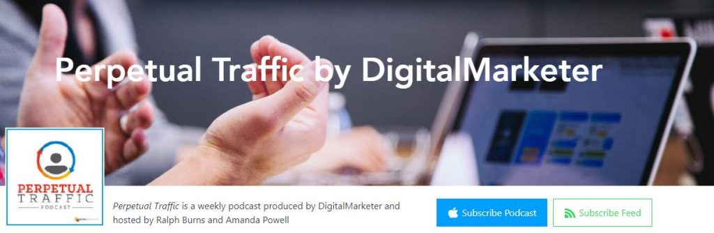 Perpetual Traffic marketing podcasts