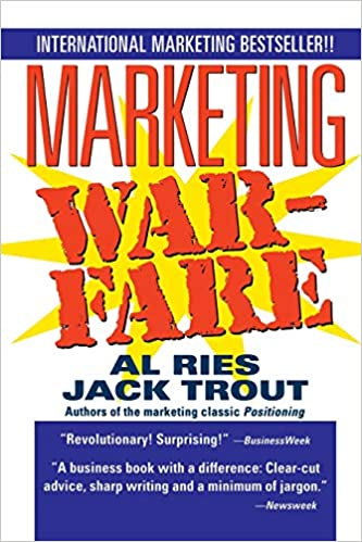 Marketing Warfare Book Cover