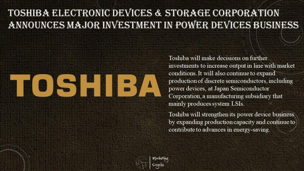 Toshiba Kaga Factory 300mm semiconductor wafer fab