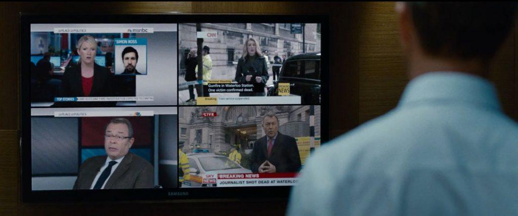 Sky news, Samsung TV