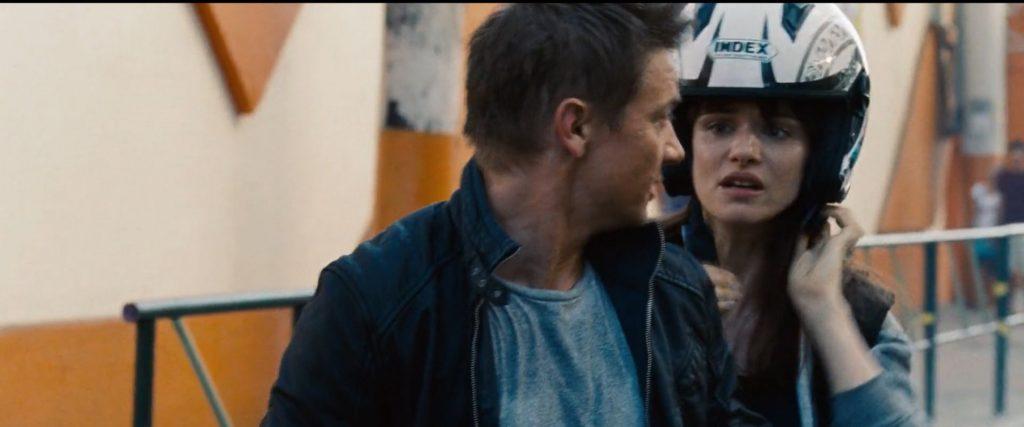 Index helmet Jason Bourne
