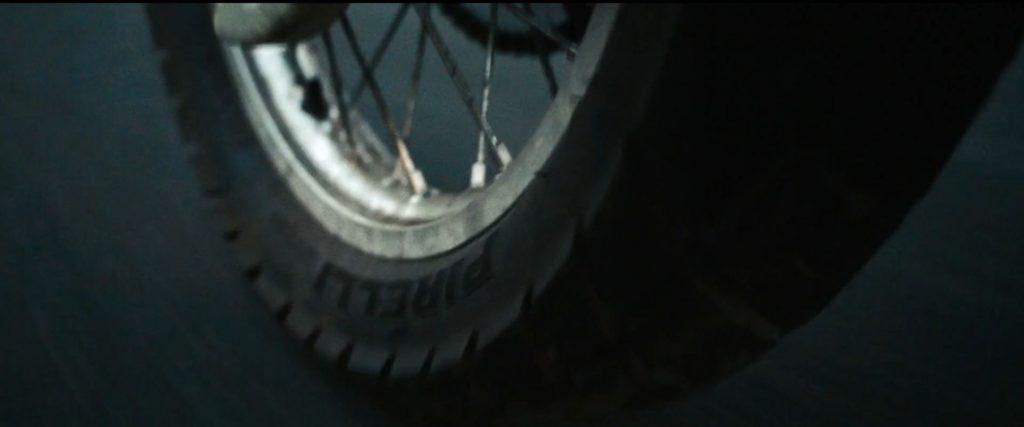 Pirelli tyre Jason Bourne