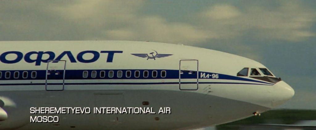 Aeroflot Jason Bourne