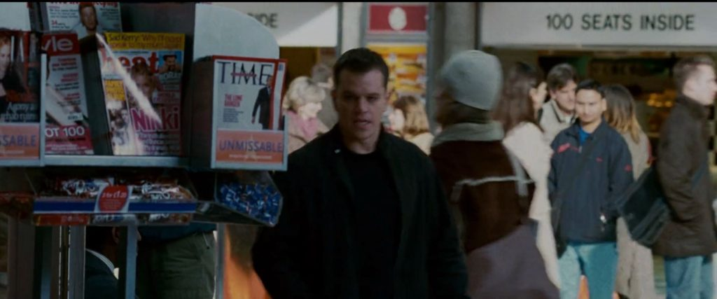 Times magazine Jason Bourne