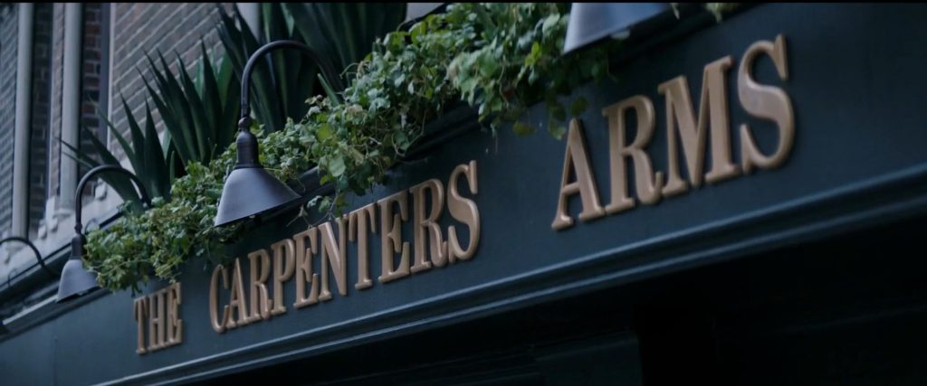 The Carpenters Arms public house Hobbs and Shaw
