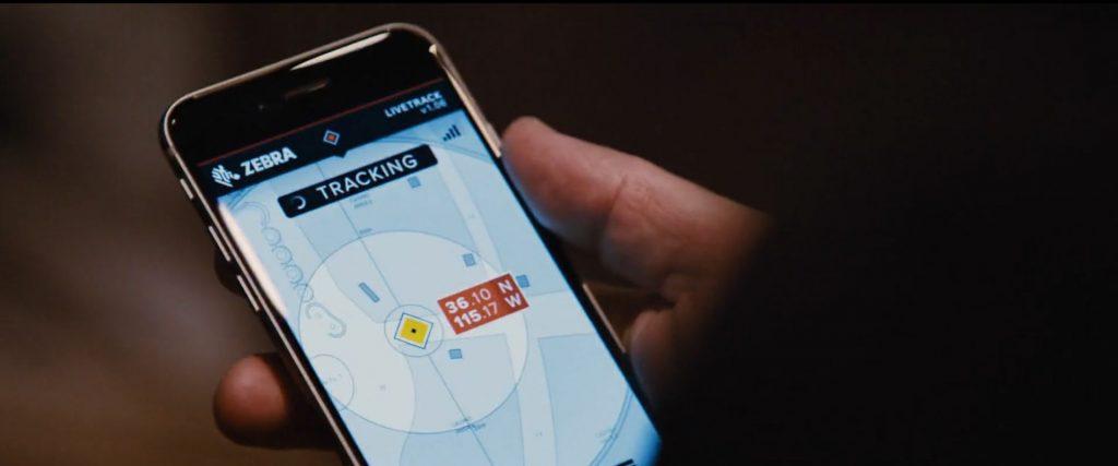 Zebra tracking Jason Bourne