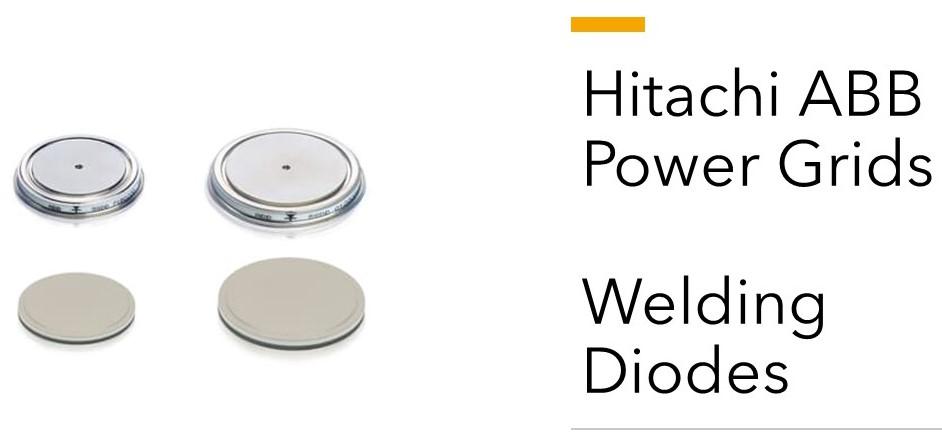 Hitachi ABB Power Grids Welding Diodes
