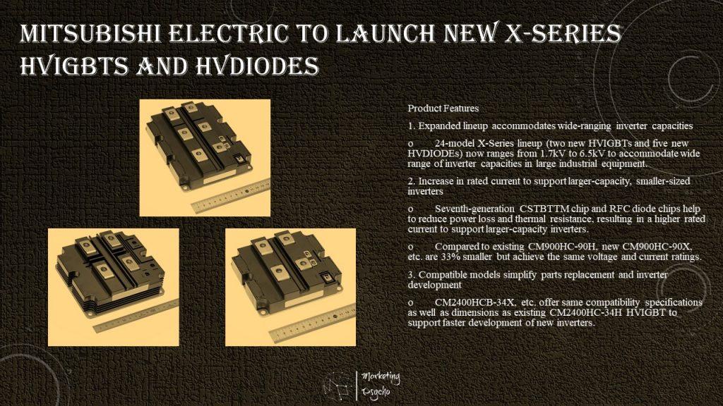Mitsubishi Electric HVIGBT and HVDIODE