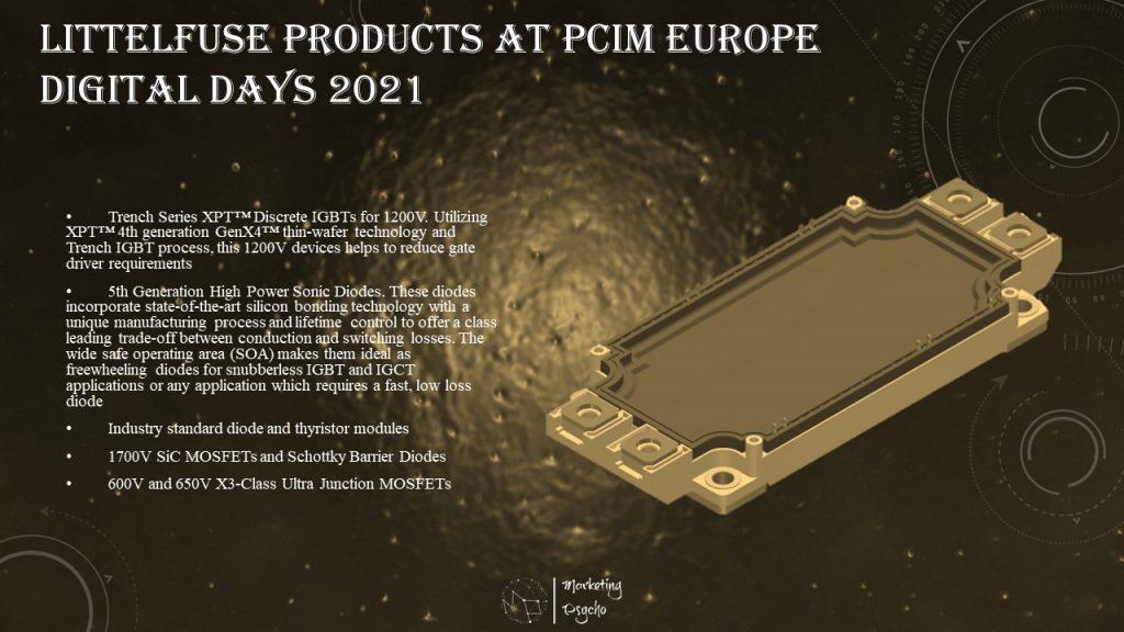 Littelfuse at PCIM Europe Digital Days 2021