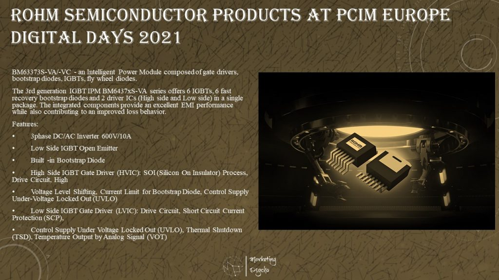 ROHM Semiconductor at PCIM Europe Digital Days 2021