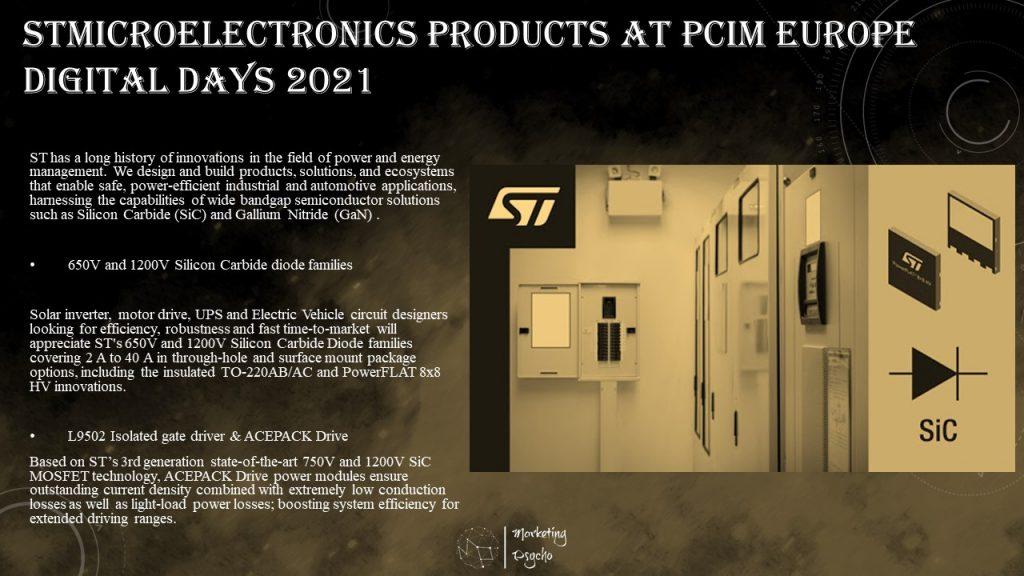 STMicroelectronics at PCIM Europe Digital Days 2021