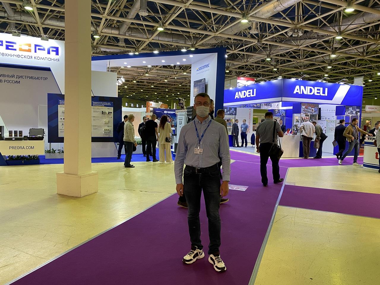 Alexey Cherkasov at Elektro 2021