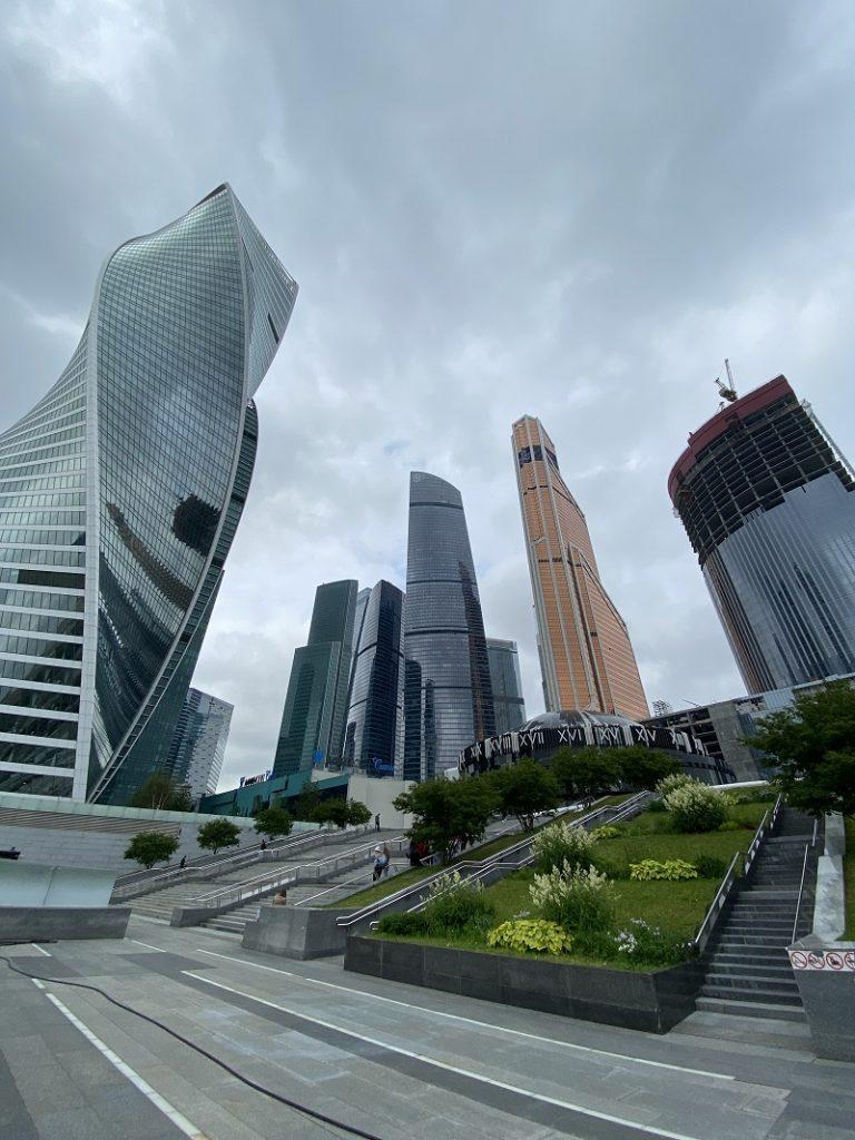 Moscow International Business Center Elektro 2021