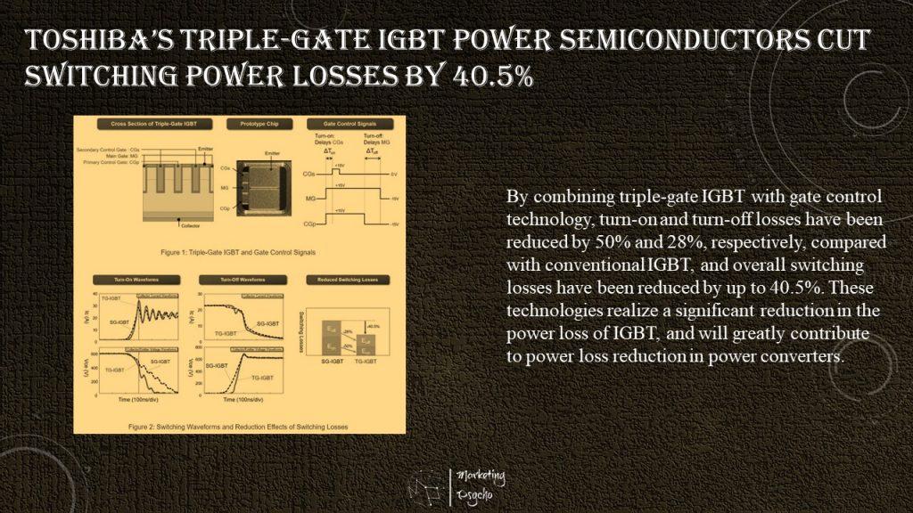 Toshiba triple-gate IGBT
