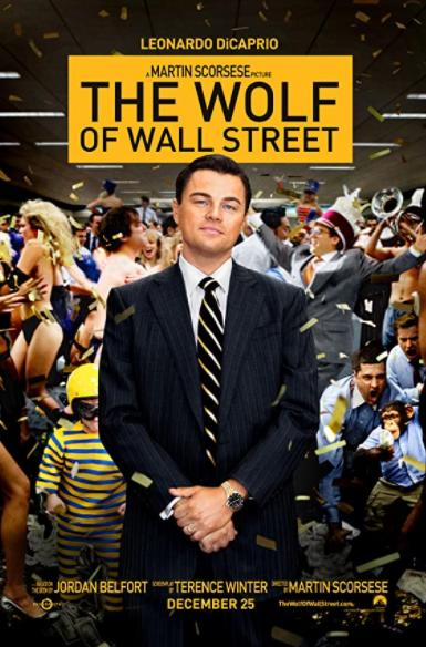 The Wolf of Wallstreet marketing and sales movies