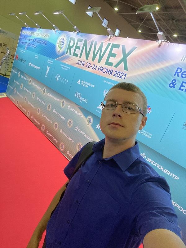 Alexey Cherkasov at RENWEX 2021