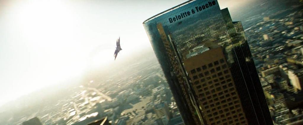 Transformers Product Placement - Marketing Psycho Deloitte