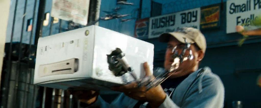 Transformers Product Placement - Marketing Psycho Xbox and Pepsi