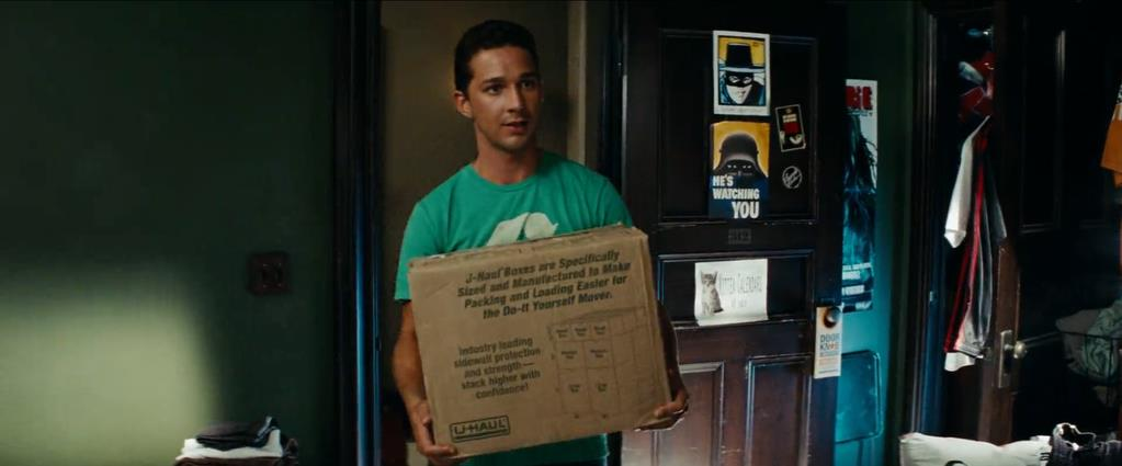 Transformers Product Placement - Marketing Psycho U-Haul