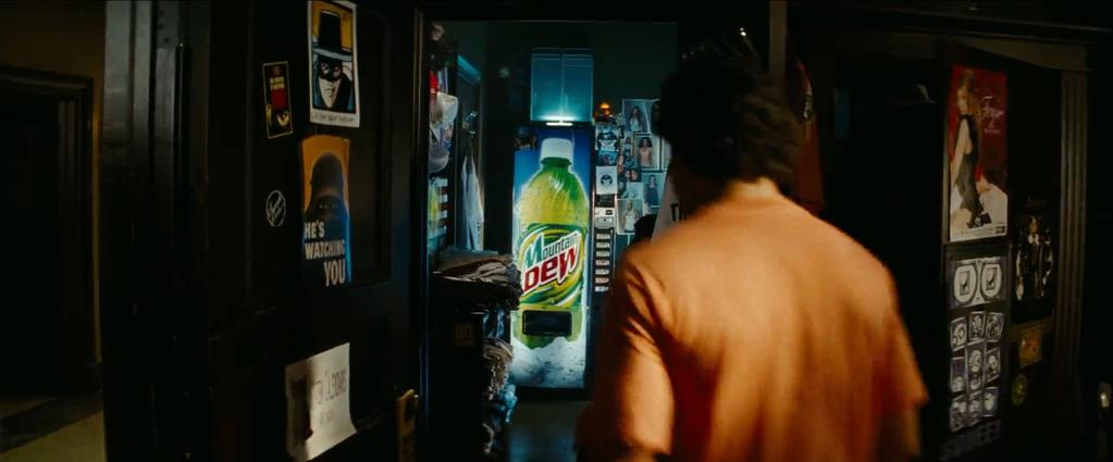 Transformers Product Placement - Marketing Psycho Mountain Dew