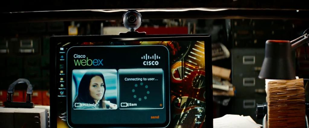 Transformers Product Placement - Marketing Psycho Cisco WebEx