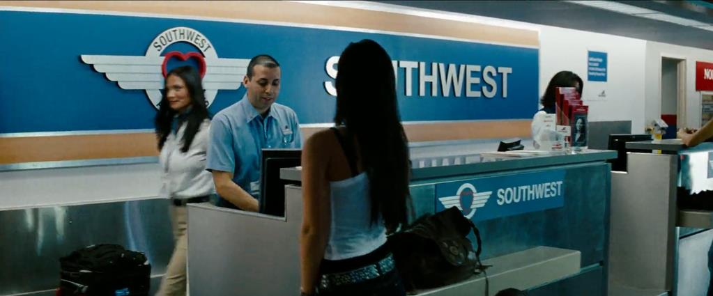 Transformers Product Placement - Marketing Psycho Southwest Airlines