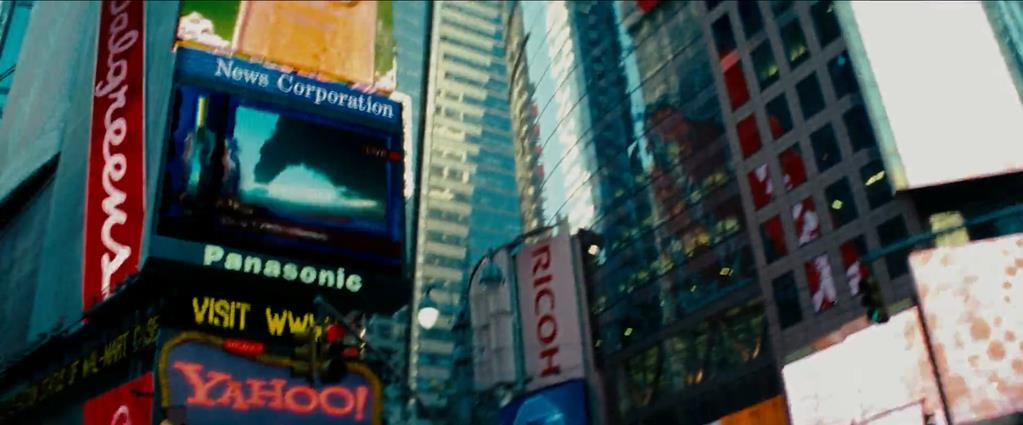 Transformers Product Placement - Marketing Psycho Times Square Brands