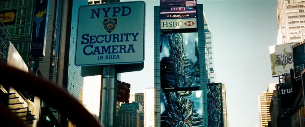 Transformers Product Placement - Marketing Psycho HSBC