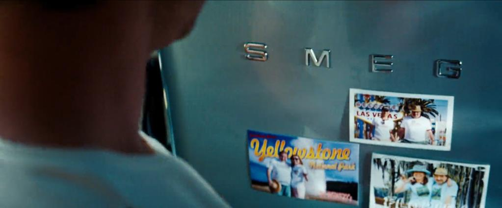 Transformers Product Placement - Marketing Psycho SMEG refrigerator