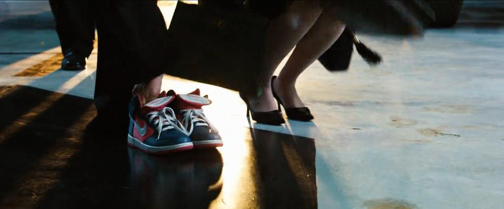 Transformers Product Placement - Marketing Psycho Nike