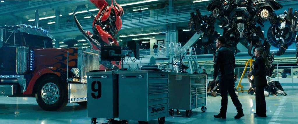 Transformers Product Placement - Marketing Psycho Snap-on