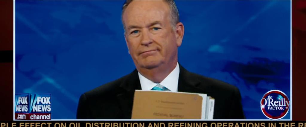 Transformers Product Placement - Marketing Psycho O'Reilly Factor on Fox News
