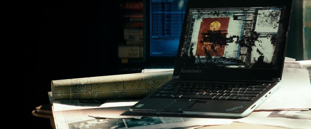 Transformers Product Placement - Marketing Psycho Lenovo ThinkPad