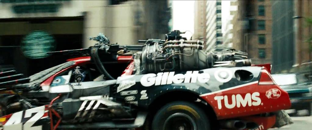 Transformers Product Placement - Marketing Psycho Gillette