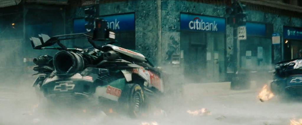Transformers Product Placement - Marketing Psycho Citibank