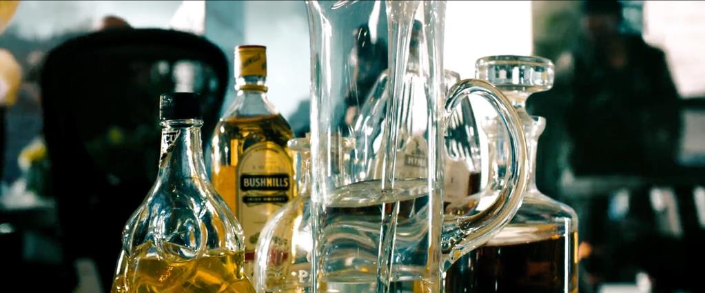 Transformers Product Placement - Marketing Psycho Bushmills