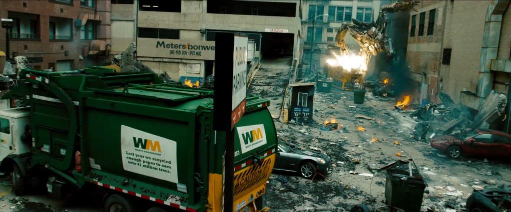 Transformers Product Placement - Marketing Psycho Waste Management