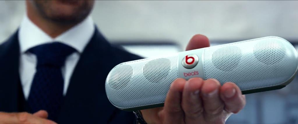 Transformers Product Placement - Marketing Psycho Beats wireless speaker