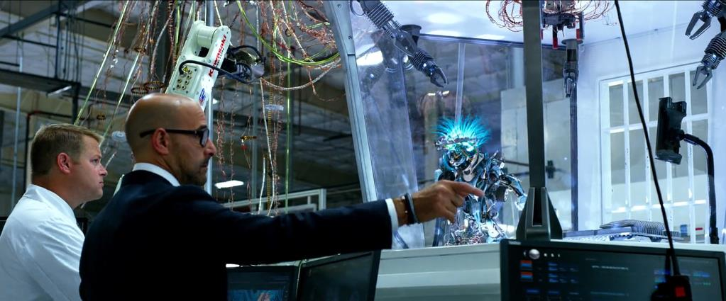 Transformers Product Placement - Marketing Psycho Kawasaki robots